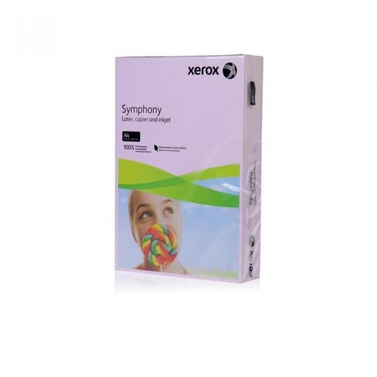 Xerox Symphony Renkli A4 Fotokopi Kağıdı 80 gr 500'lü Lila